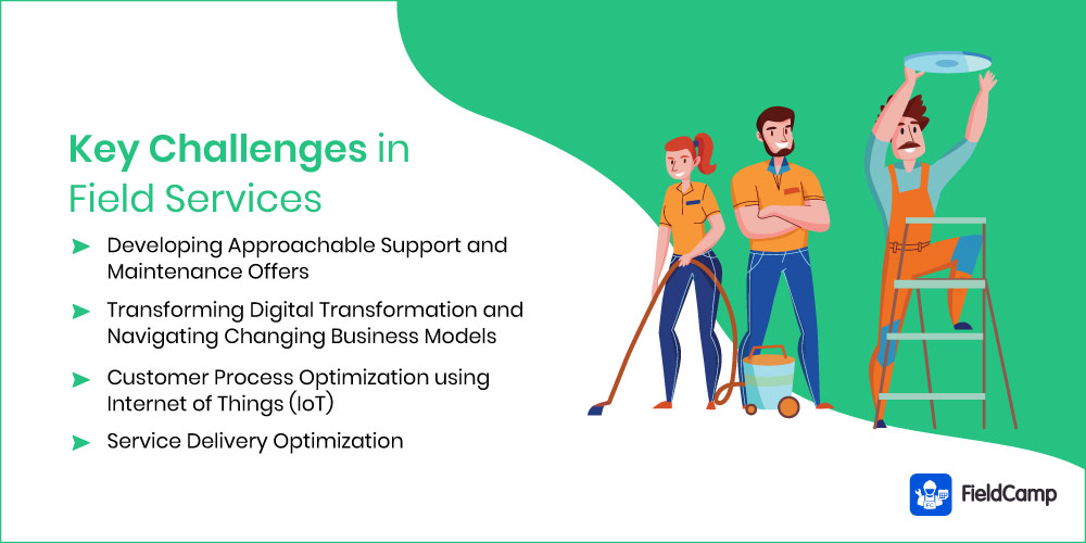 Key Challenges in Field Services