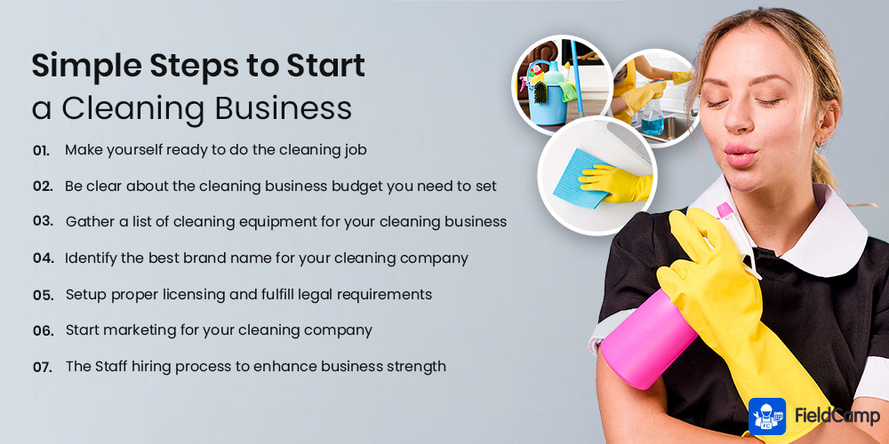 Simple Steps to Start a Cleaning Business
