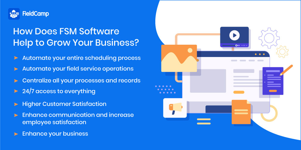 FSM Software Helps to Grow Your Business