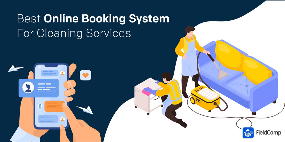 Best Online Booking System for Cleaning Services