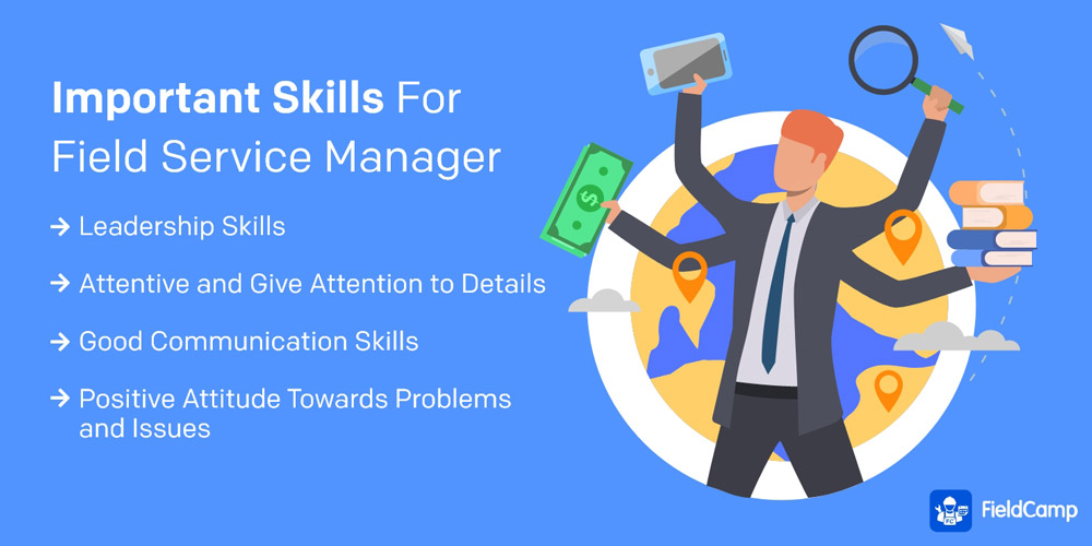Important Skills for Field Service Manager