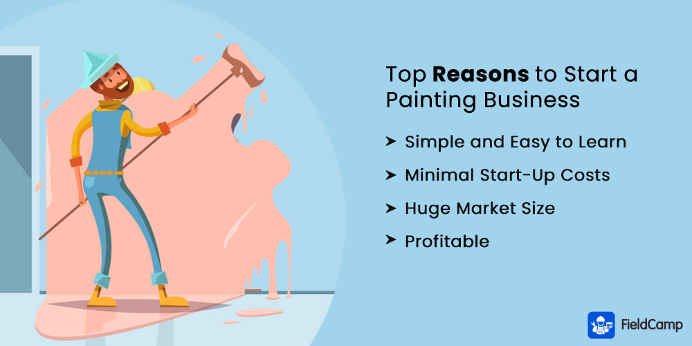 Top Reasons to Start a Painting Business