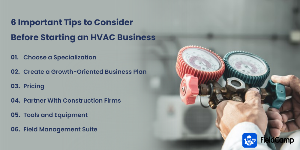 6 Important Tips to Consider Before Starting an HVAC Business