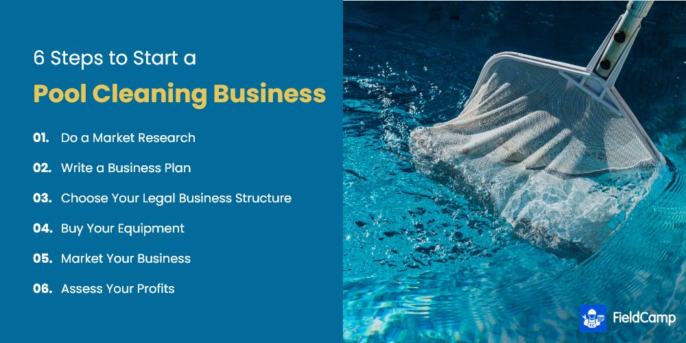 6 Steps to Start a Pool Cleaning Business