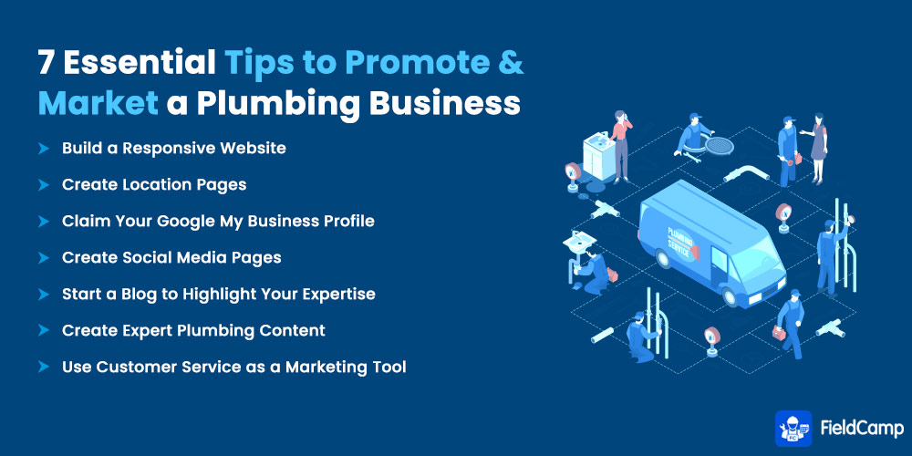 7 Essential Tips to Promote and Market a Plumbing Business