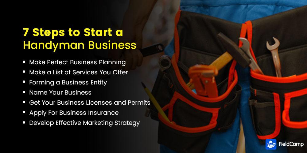 7 Steps to Start a Handyman Business
