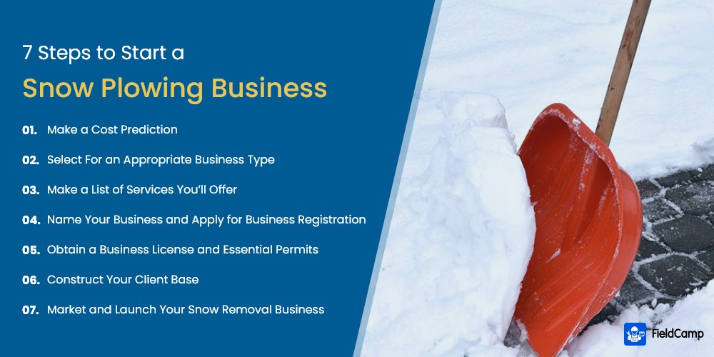 7 Steps to Start a Snow Plowing Business