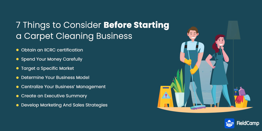 7 Things to Consider Before Starting a Carpet Cleaning Business