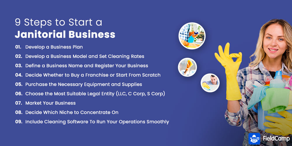 9 Steps to Start a Janitorial Business