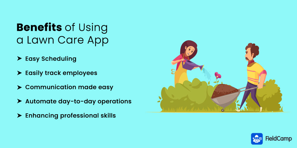 Benefits of Using a Lawn Care App