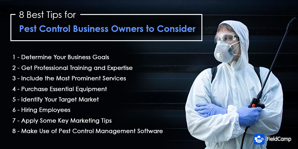 Best tips for pest control business owners