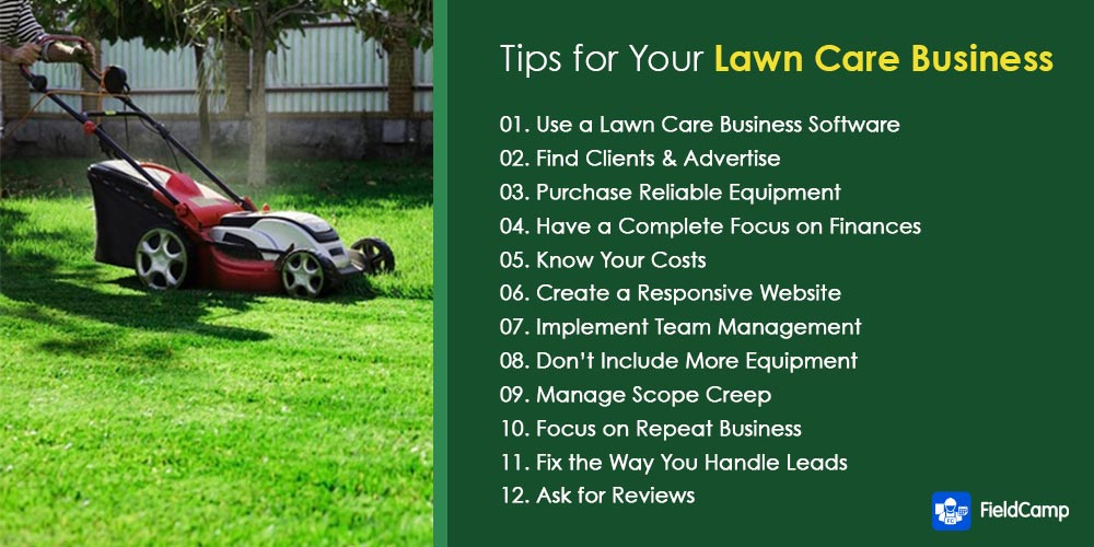 Lawn care business tips for owners