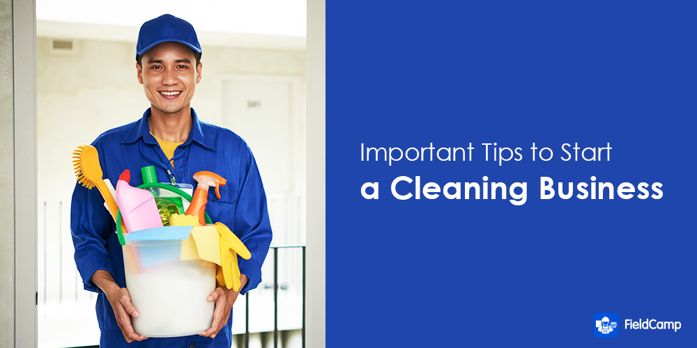 Tips for starting a cleaning business