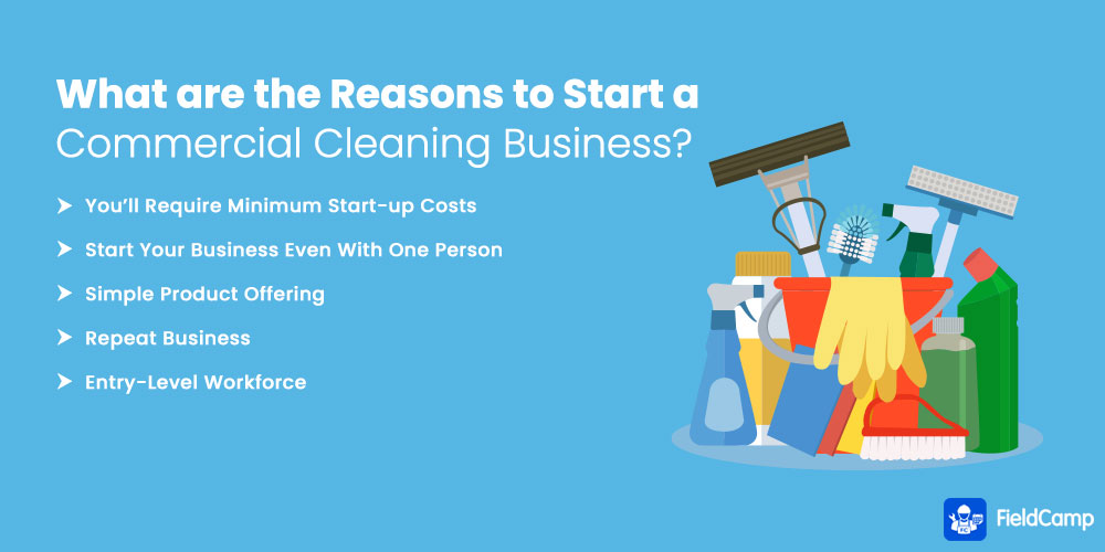 What are the Reasons to Start a Commercial Cleaning Business?