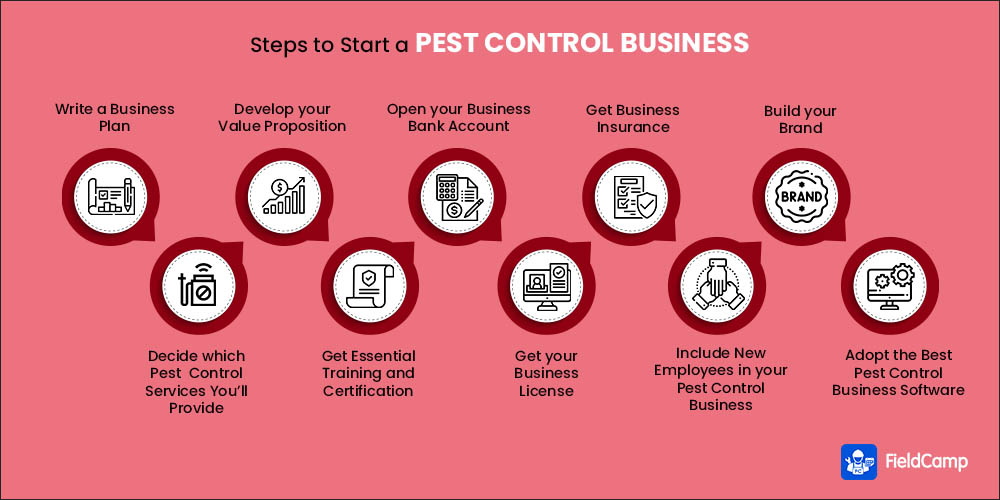 Steps on How to Start a Pest Control Business