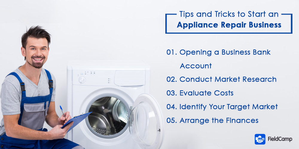 Tips to run an appliance repair business