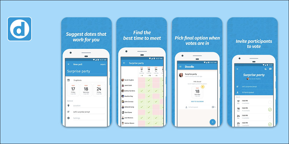 Doodle - Scheduling App for Small Business