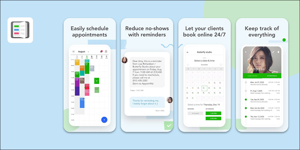 Appointfix - Scheduling App for Small Business