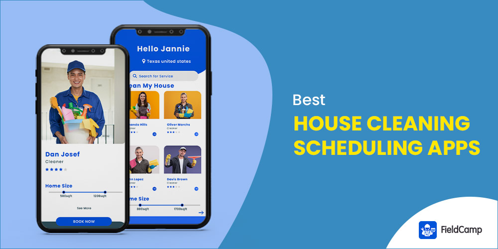 Best House Cleaning Scheduling Weekly Apps