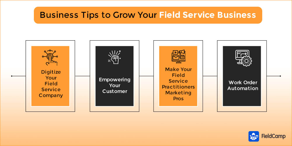 Business tips to grow your field service business