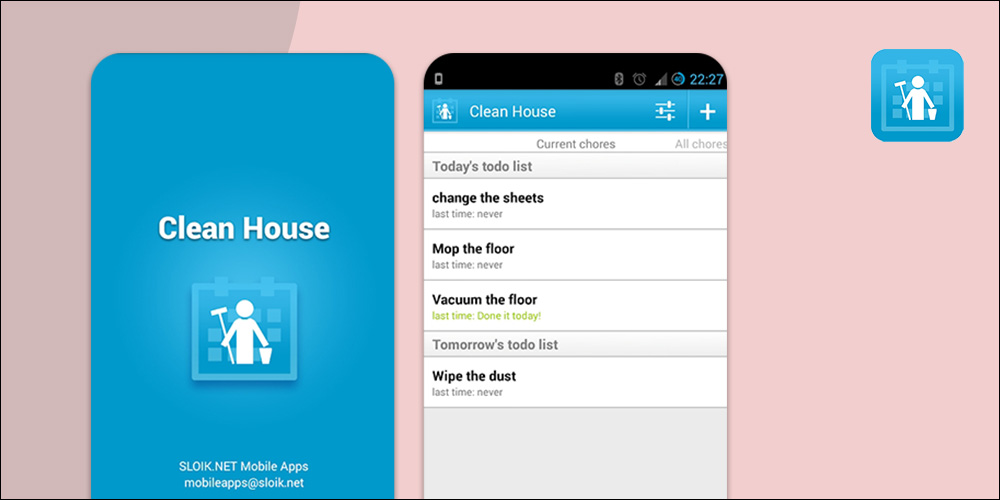 Clean House - House cleaning App