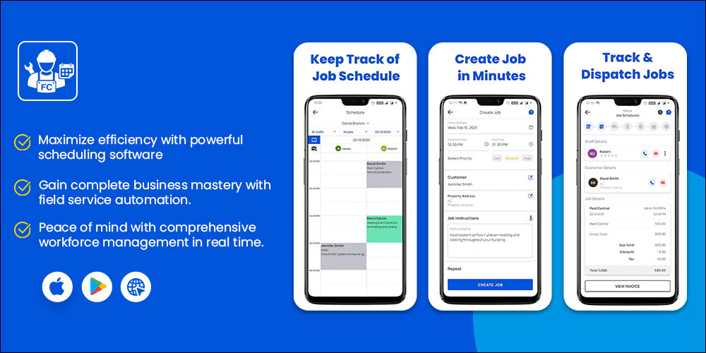 FieldCamp - Best Scheduling Apps for Business