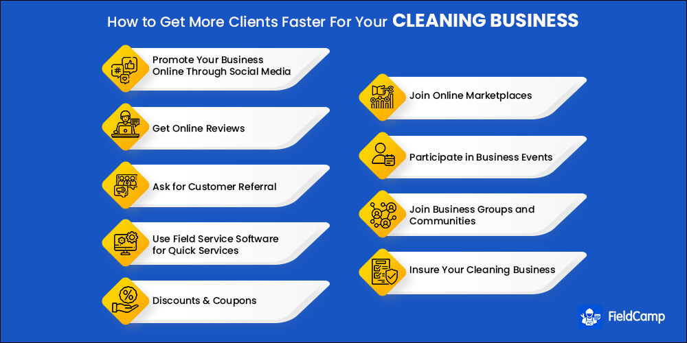 How to Get Clients for Cleaning Business