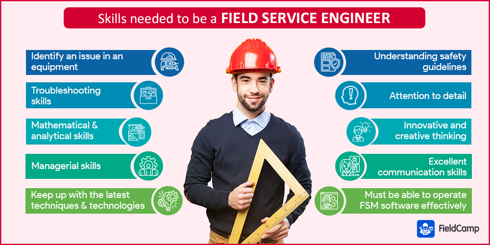 Required skills to become a field service engineer