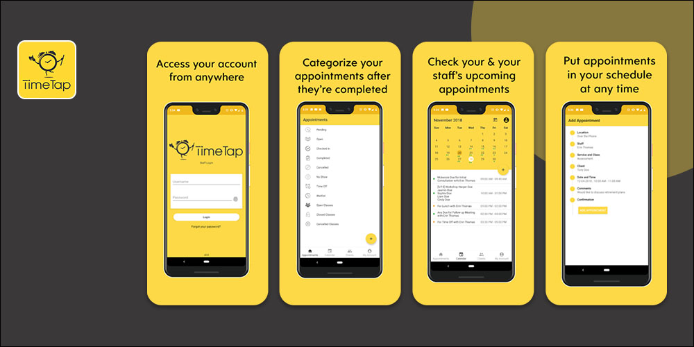 TimeTap - Scheduling App for Small Business