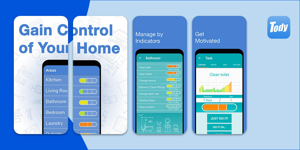 Tody - House cleaning App