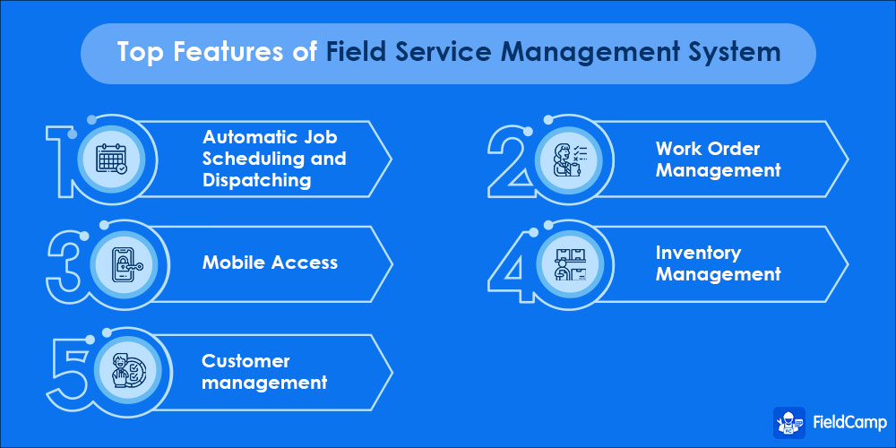 Top Features of Field Service Management Software