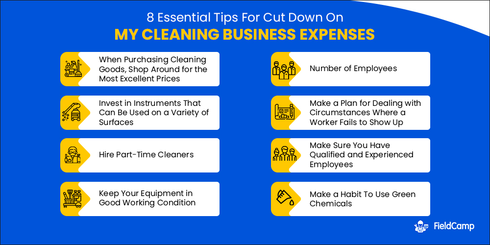 Tips to Cut Down Your Cleaning Business Expenses