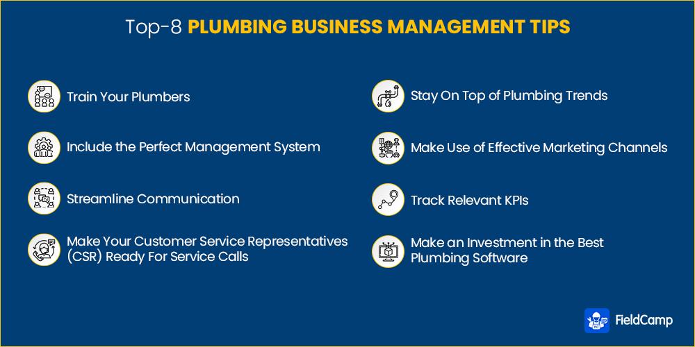 Top plumbing business management tips