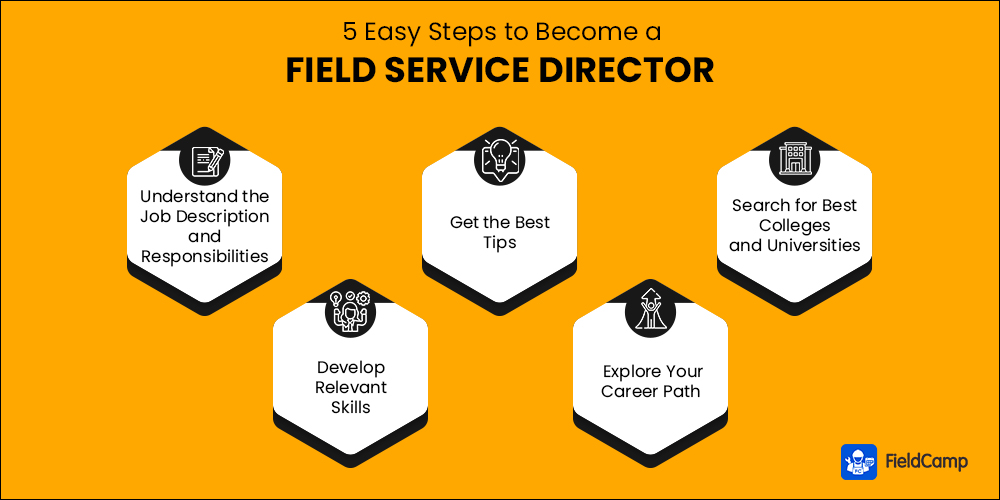 Steps to Become a Field Service Director