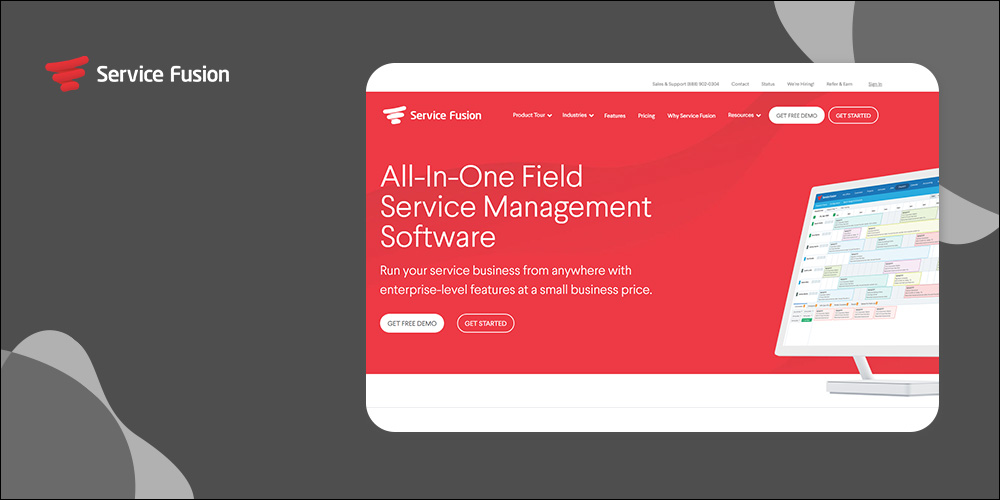 ServiceFusion - Field Service Dispatch Software