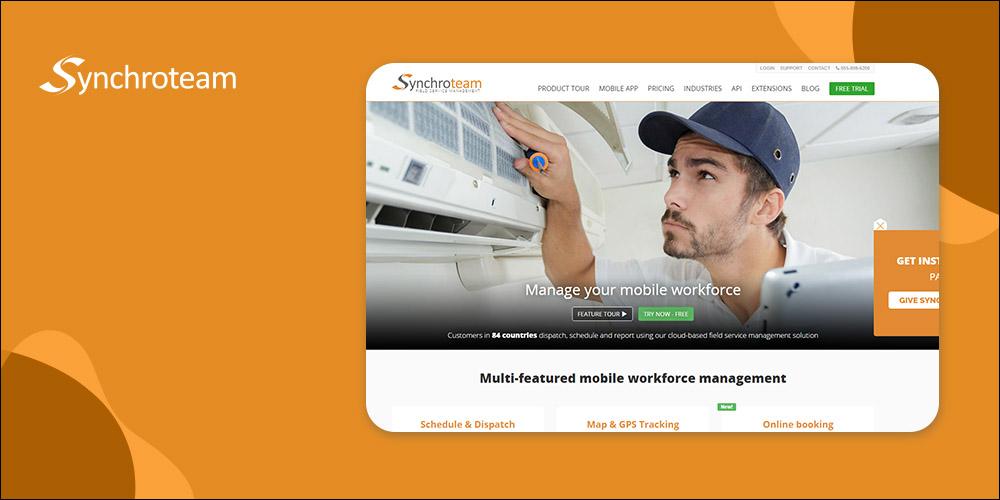 Synchroteam - Field Service Dispatch Software