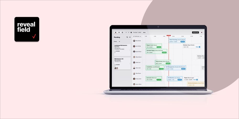 RevealField - Job Scheduling Software
